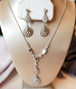 Givenchy Crystal Necklace Earring Set